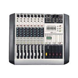 8路两编组调音台,型号:MCZN TY2B802